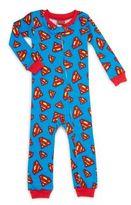 AME Sleepwear Baby's Superman Romper