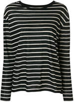 Majestic Filatures striped long-sleeved top