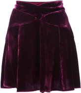 Anna Sui v-waist mini skirt