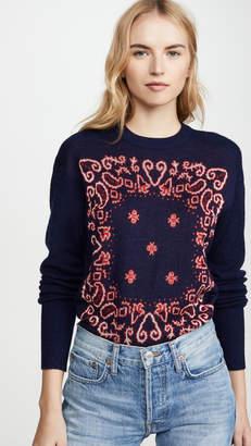 Scotch & Soda Jacquared Bandana Sweater