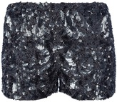 Gold Hawk SEQUINED SHORTS