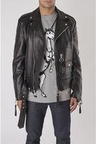 Off-White Black Biker Jacket
