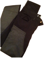 Givenchy Black Cotton Jeans