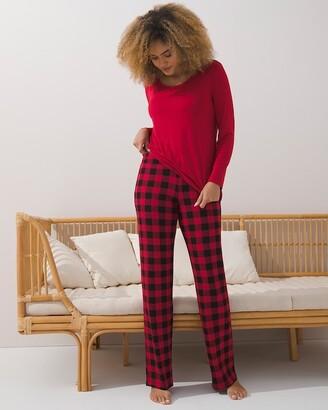 Soma Intimates Cool Nights Long Sleeve Pajama Set Short