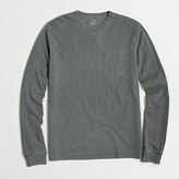 J.Crew Factory Long-sleeve sunwashed garment-dyed T-shirt