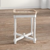Ophelia Jesup Square Shaped Wooden Tray Table & Co.