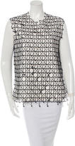 Edun Wool Embroidered Top