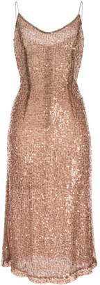 Walk Of Shame sequined midi dress