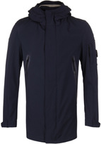Cp Company Navy Soft Shell Hooded Watchviewer Jacket
