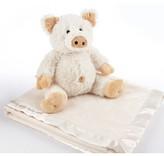 Baby Aspen Infant Pig Stuffed Animal & Blanket Set