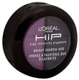 L'Oreal HiP Studio Secrets Professional Bright Shadow Duos, 0.08 Ounce (Reckless)