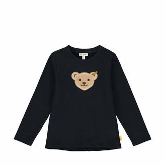 Steiff Girls' mit Teddybarmotiv Sweatshirt