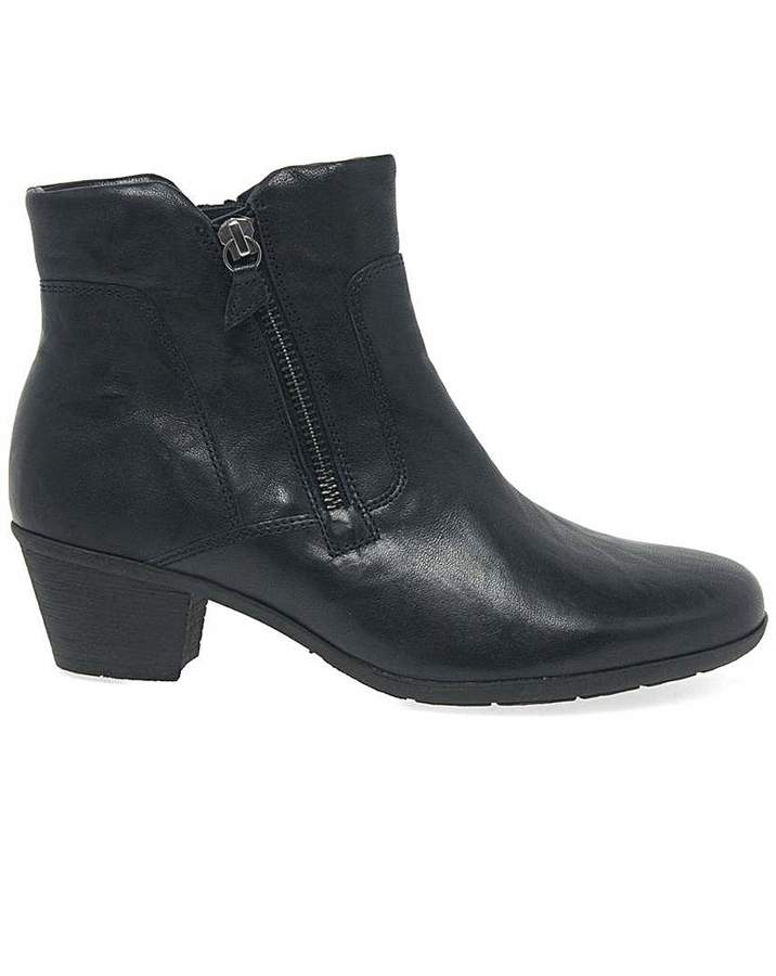 9020aa00211 Selina Womens Leather Ankle Boots