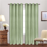 UNITED CURTAIN CO United Curtain Co Hamden Grommet-Top Curtain Panel