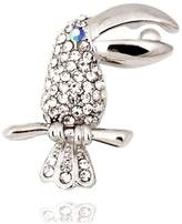DFHGKDFJJM diamond Toucan rooches Lady rooch clasp pins The girls ' accessories
