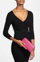 Lodis Women's 'Audrey Collection - Iris' Zip Around Wallet - Red