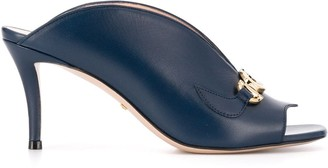 Gucci Zumi mid-heel slide sandals