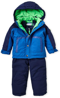 Carter's Infant Boys) Two-Piece Navy Hooded Snowsuit Set