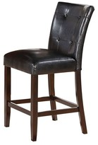 Acme Easton Counter Height Dining Chair (Set of 2) - Brown Cherry