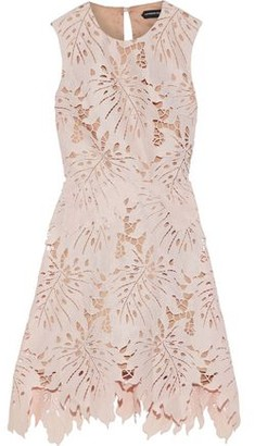Catherine Deane Nika Guipure Lace Mini Dress
