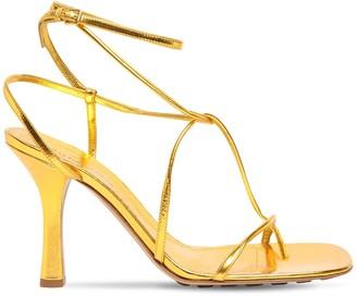 Bottega Veneta 90mm Line Leather Thong Sandals