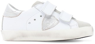 Philippe Model Paris Leather Strap Sneakers