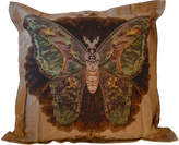 Houseology Timorous Beasties Ruskin Single Moth Blotch Cushion On Linen