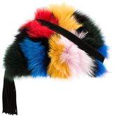 Loeffler Randall fur crossbody bag