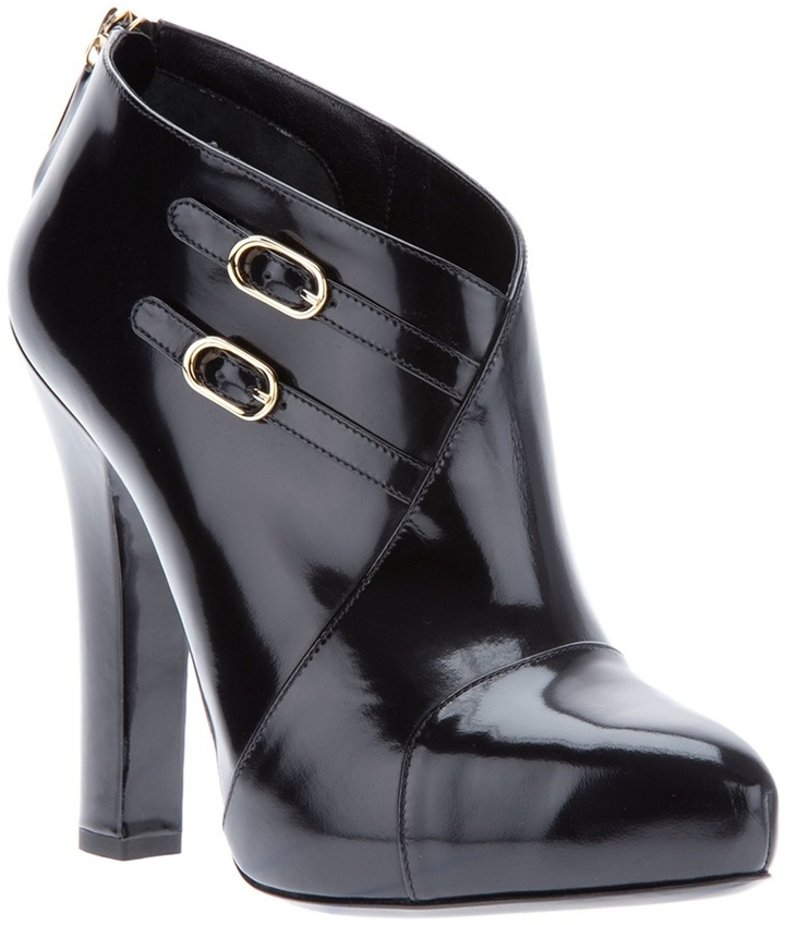 Dolce & Gabbana Buckled ankle boot
