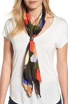 Cara Women's Pleated Skinny Scarf