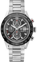 Tag Heuer Brushed Ceramic Tachymeter Bracelet Watch, CAR201WBA0714
