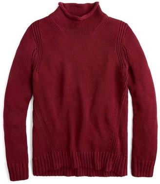 J.Crew 1988 Roll Neck Cotton Sweater (Regular & Plus Size)