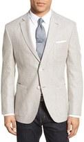 JKT NEW YORK Classic Fit Linen & Wool Jacket