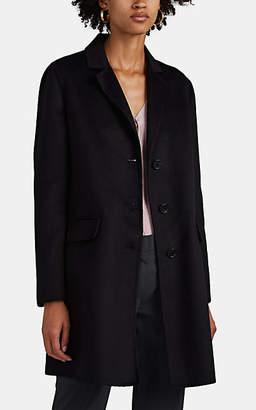 Prada Women's Wool-Blend Melton Blazer Coat - Black