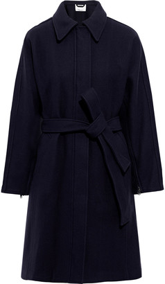 3.1 Phillip Lim Belted Wool-blend Twill Coat