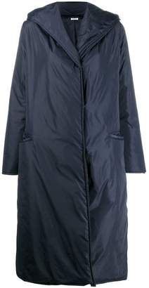 P.A.R.O.S.H. long hooded jacket