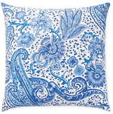 Dransfield and Ross Square Paisley Pillow