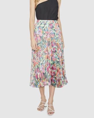 Cooper St Spirited Pleated Skirt