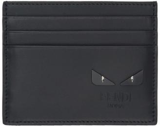 Fendi Black Bag Bugs Card Holder