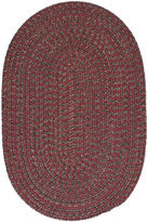 Colonial Mills Grafton Tweed Reversible Braided Oval Rug