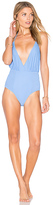 6 Shore Road Coast One Piece Swimsuit in Blue. - size M (also in S,XS)