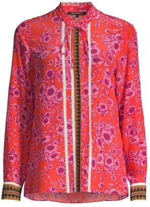 Kobi Halperin Lena Floral Silk Blouse