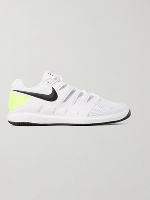 Nike Tennis Air Zoom Vapor X Rubber And Mesh Tennis Sneakers
