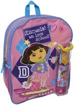 FAB Starpoint Backpack with Pencil Case - Dora