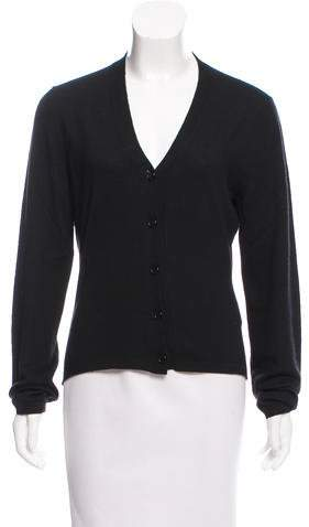 Calvin Klein Cashmere Button-Up Cardigan