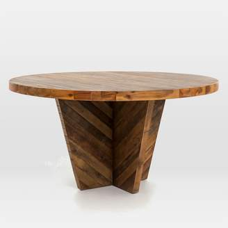 west elm Alexa Round Dining Table - Honey