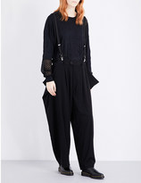 Y's YS Loose-fit woven trousers