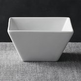 "Crate & Barrel Square 4.75"" Bowl"