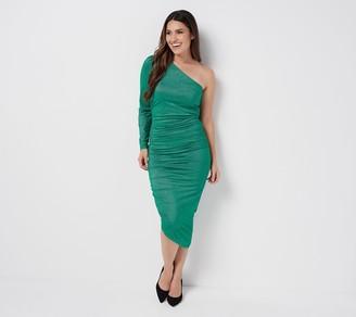 All Worthy Hunter McGrady Ruched Side Dress