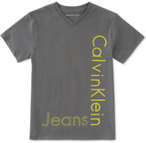 Calvin Klein Graphic-Print Cotton T-Shirt, Little Boys (2-7)